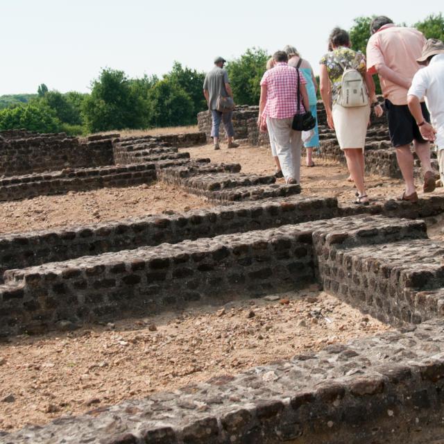 Visite Sit Archéologique Cherré (4)